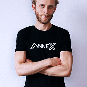 ANNEX – T-shirt black , Men