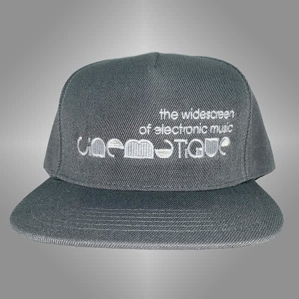CINEMATIQUE CAP GREY FRONT