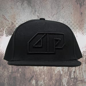 Deepack – Snapback CAP – 3D embroidered Deepack logo – black on black