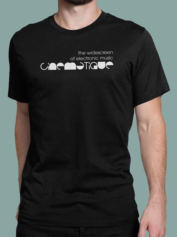 Cinematique t-shirt logo 3