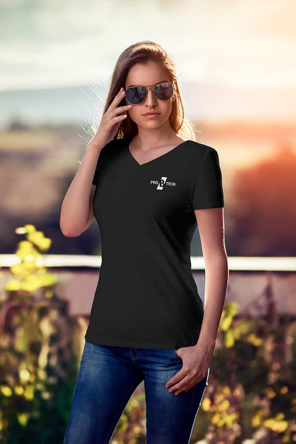 PRO B TECH MUSIC T-SHIRT WOMEN