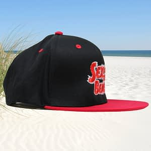 T-Spoon – Snapback CAP – Sex on the Beach logo – red-white