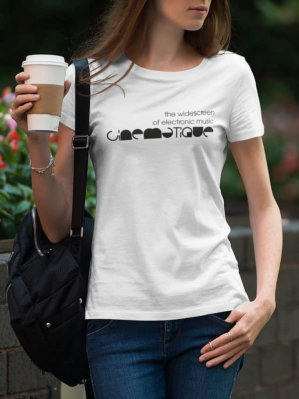 CINEMATIQUE ladies tee white