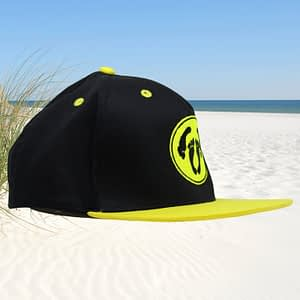 T-Spoon – Snapback CAP adult logo – black-yellow