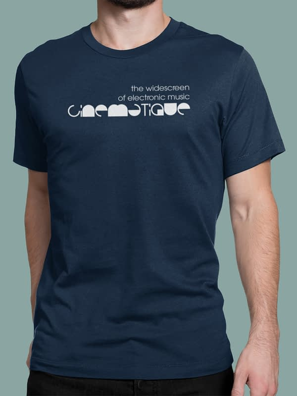 Cinematique t-shirt logo 2