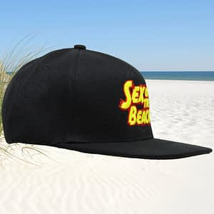 T-Spoon – Snapback CAP – Sex on the Beach logo – red-yellow