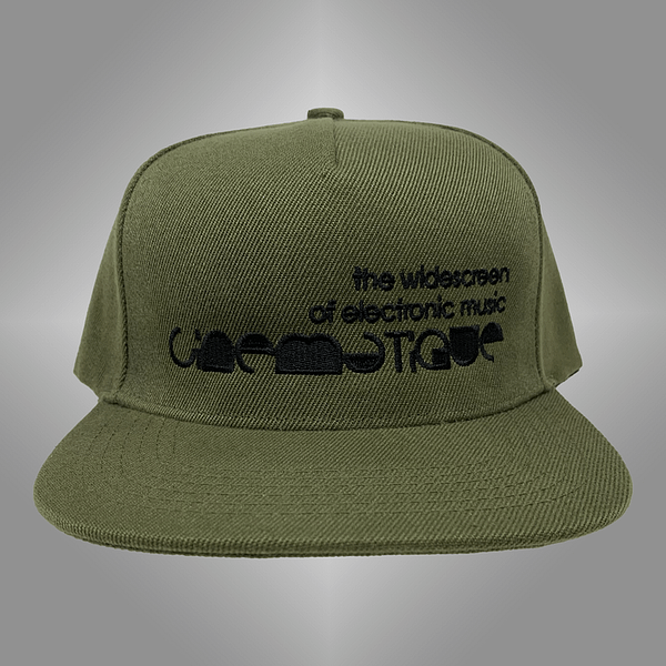 CINEMATIQUE CAP GREEN FRONT