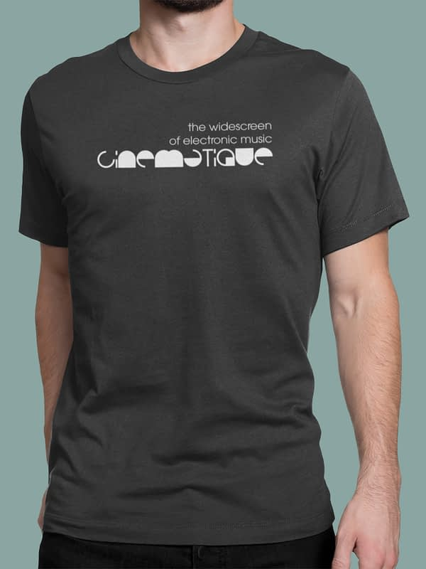 Cinematique t-shirt logo 1