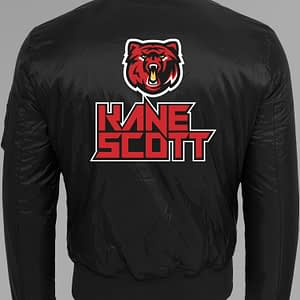 KANE SCOTT – Bomberjacket male, with bear logo