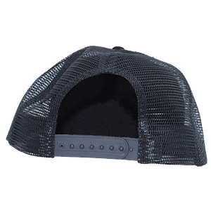 The Viper – cap logo white on black 3D embroidered (Snap back)