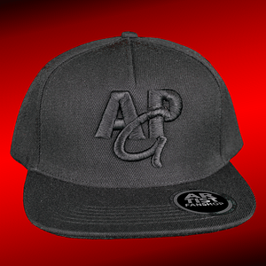 APG – snapback cap – 3D black embroided logo