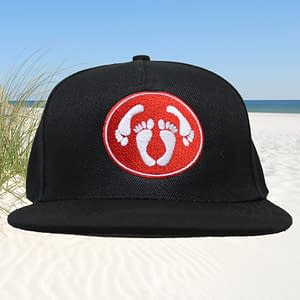T-Spoon – Snapback CAP adult logo – red-white