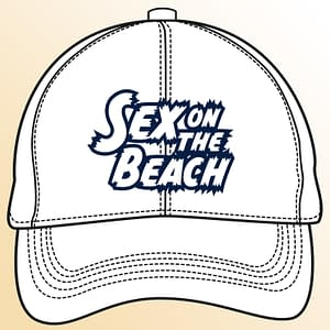 T-Spoon – Snapback CAP – Sex on the Beach logo – navy-white