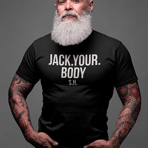 REMEMBER – T-shirt JACK YOUR BODY, white print
