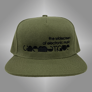 CINEMATIQUE – CAP snapback – Black on green embroidered