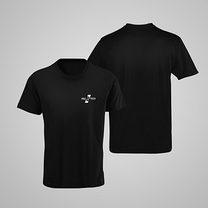 PRO B TECH – black T-shirt,  with small logo